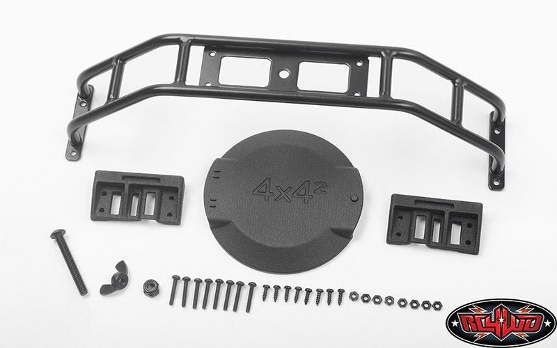 RC4WD Spare Wheel and Tire Holder for TRAXXAS TRX-4