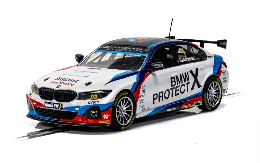 Scalextric 1:32 BMW 330I M BTCC 2019 Turkington HD