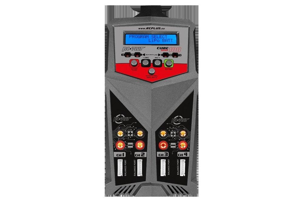 CUBE 100 QUAD Charger - AC/DC - 2x 100 Watt