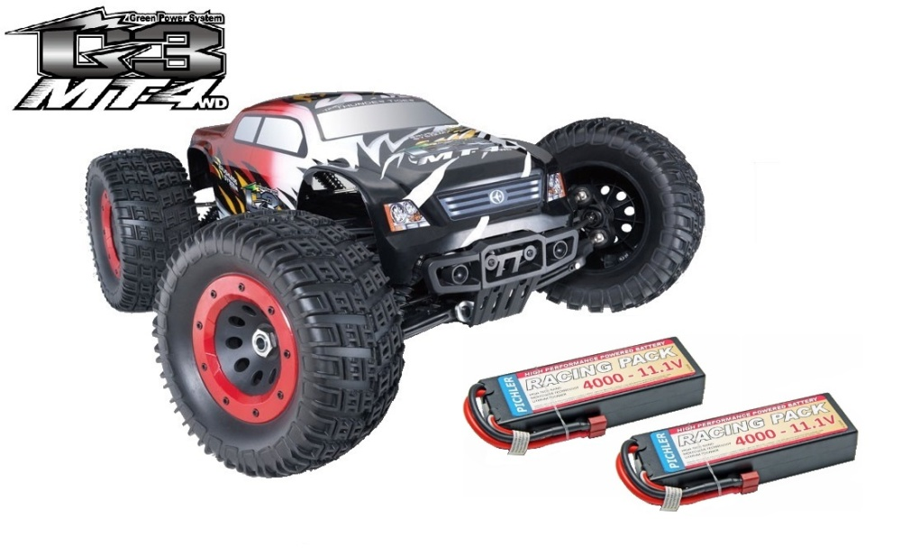 Thunder Tiger MT4 G3 4WD 6s BL Monstertruck 2.4GHz RTR