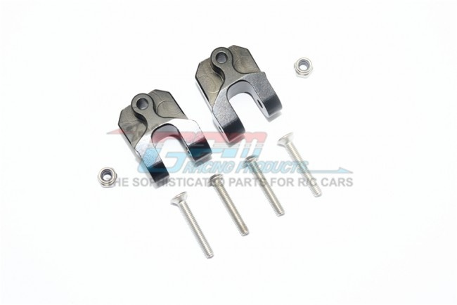 GPM aluminium rear lower axle mount set for suspension