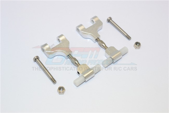 GPM alloy rear adjustable upper arm - 1 PR for Tamiya TT-02