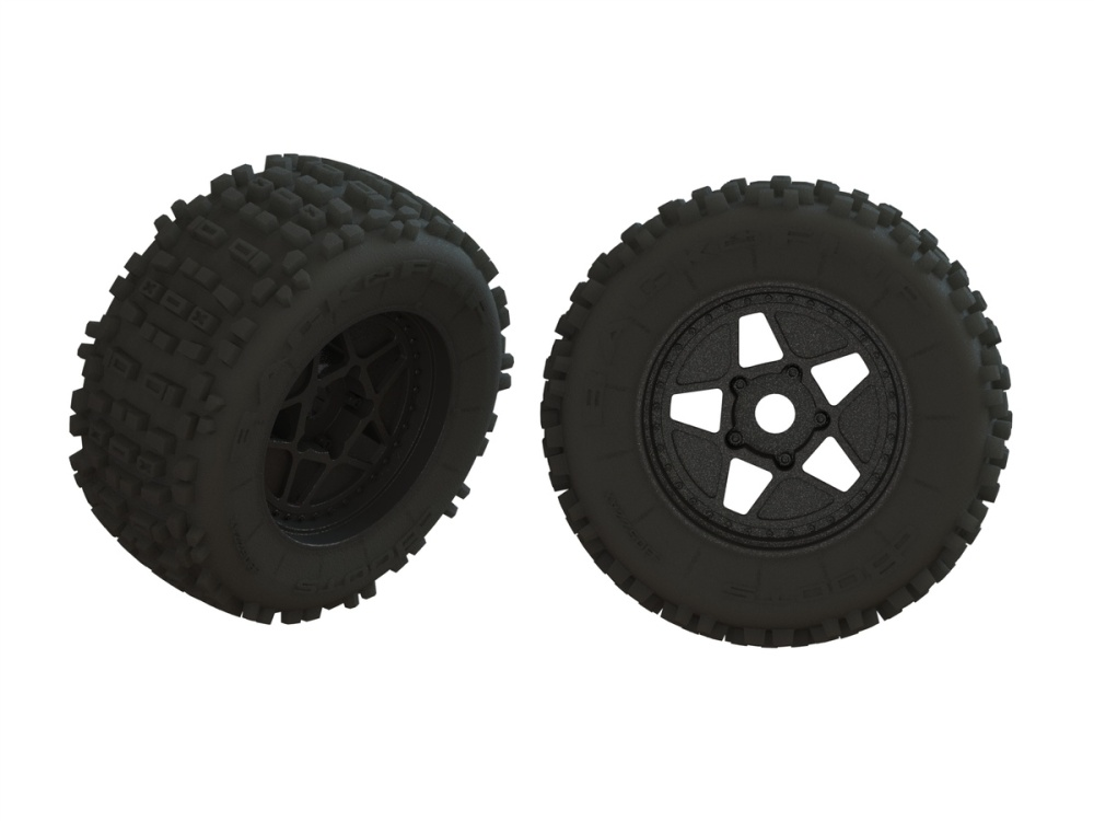 Arrma dBoots BACKFLIP Tire Set Glued (1pr) (ARA550064)
