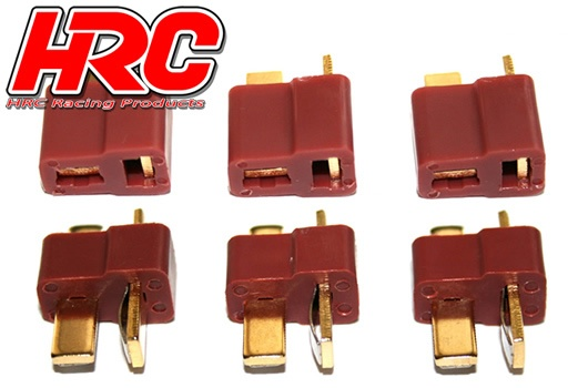 HRC Racing Stecker - Gold - Ultra T (Deans kompatible) -