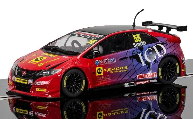 Scalextric BTCC Honda Civic Type R #55 2016 HD