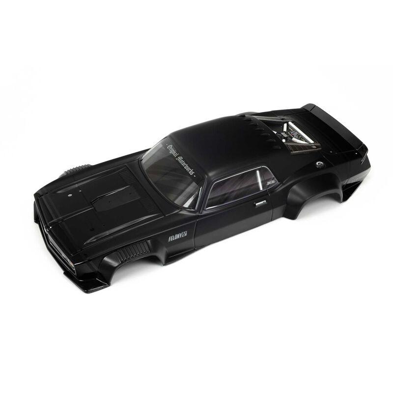 Arrma Painted Body, Black: FELONY 6S BLX (ARA410007)