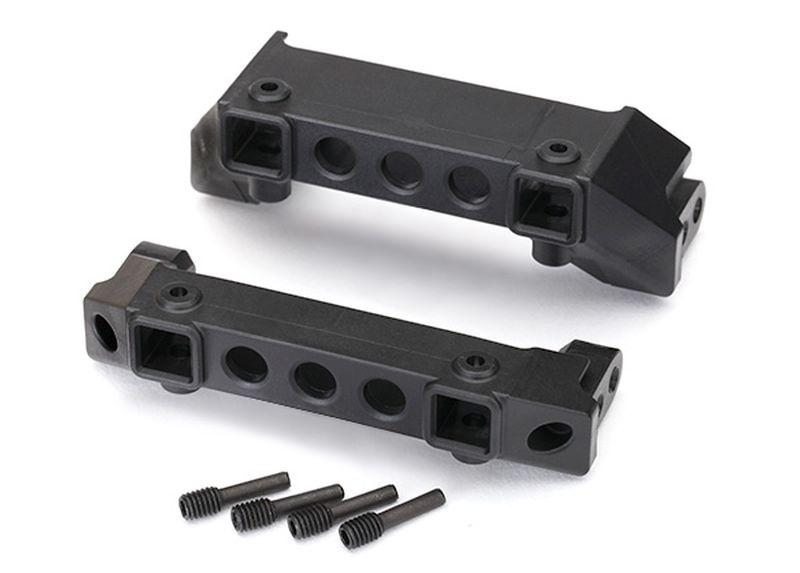 Traxxas Bumper Halter, v/h / screw pins (4)  TRX-4