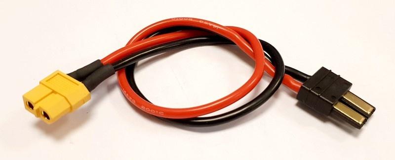 MLine Ladekabel XT60 Buchse / TRX passend für HOTA / ISDT
