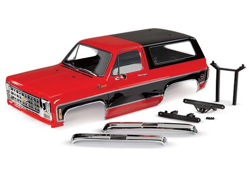 Traxxas Karo Chevrolet Blazer (1979) rot