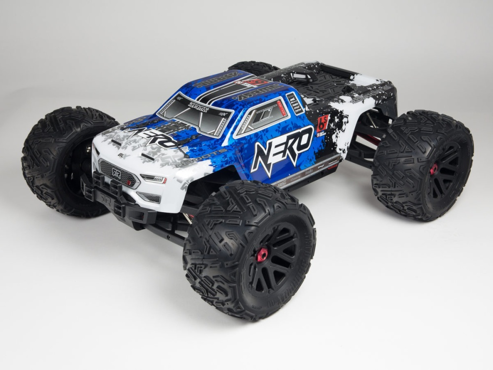 Arrma RC Nero 6s BLX Karosserie blau Nero (1)