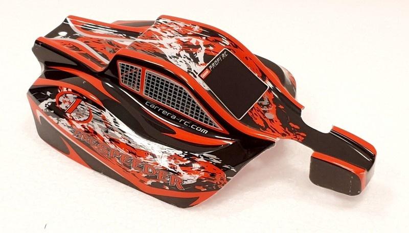 Carrera RC Profi Karosserie Fire Speeder