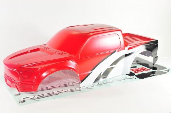 CEN Reeper Karosserie Rot lackiert mit Dekorbogen
