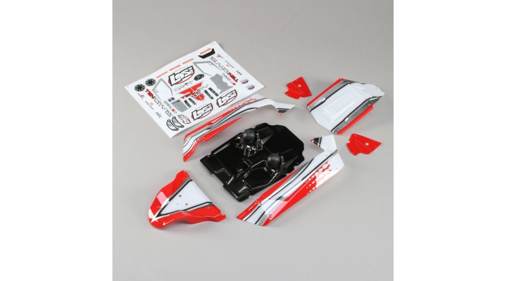 Losi Body Set, Red: Tenacity Desert Buggy (LOS230051)