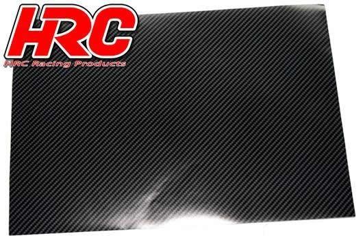 HRC Racing Aufkleber - TSW - Kohlefaser Pattern A4