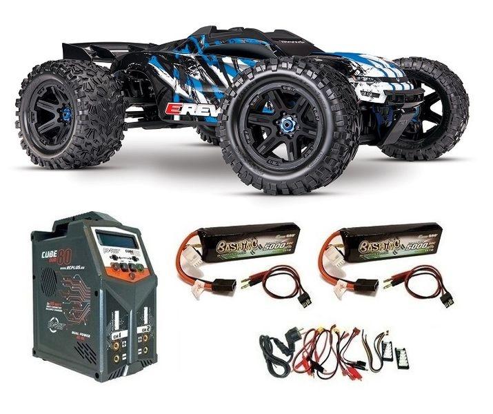 Traxxas E-REVO BL 2.0 4x4 VXL 4WD Racing Truck TQi2.4GHz TSM