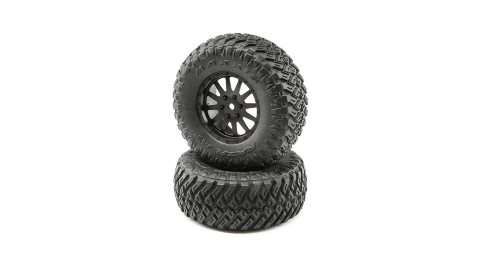Losi Wheel and Tire Mounted (2): TENACITY SCT (LOS43015)