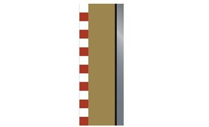 Scalextric SPORT Randstreifen 175mm (4) Halbgerade