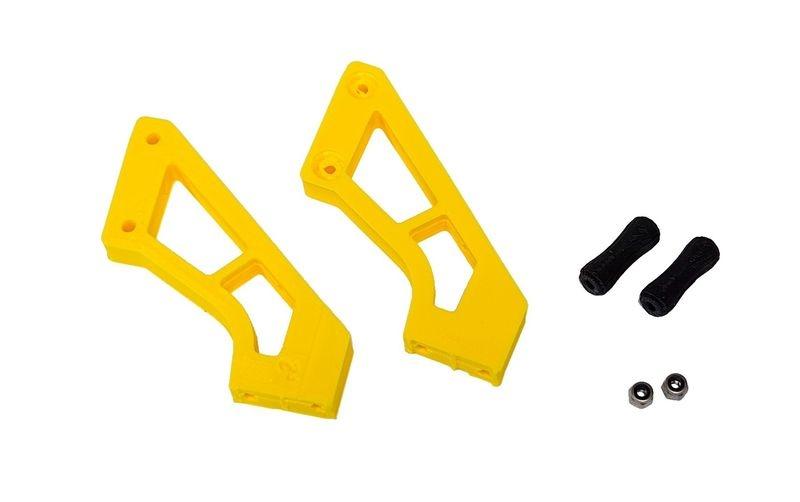 JS-Parts ultraflex Spoilerhalter gelb passend für