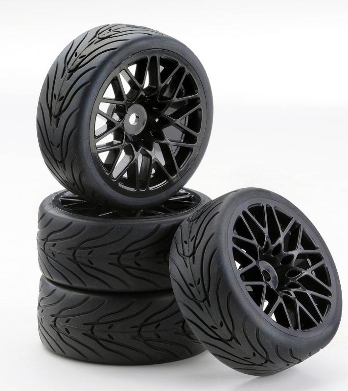 Carson SC-Räder LM Style schwarz, 4 Stück