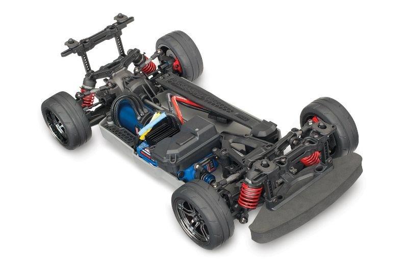 Traxxas 4-Tec 2.0 VXL nur Chassis (-Akku, - Lader, -Karo)
