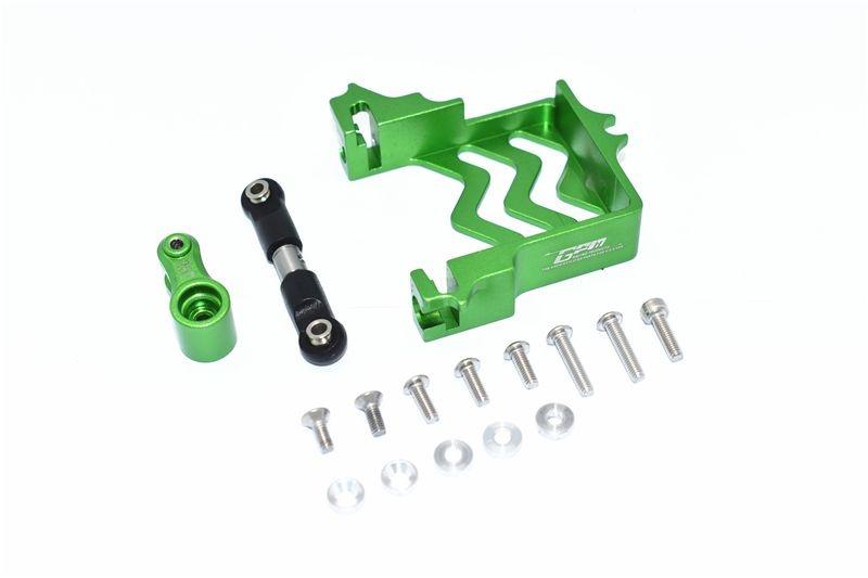 GPM Aluminum Servo Mount+Stainless Steel Tie Rod + 25T Alu