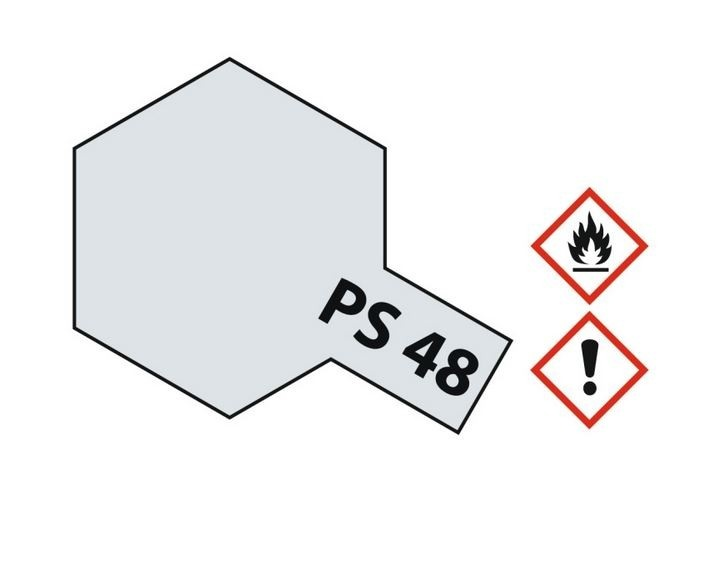Tamiya Lexanlack PS 48 aluminium silber