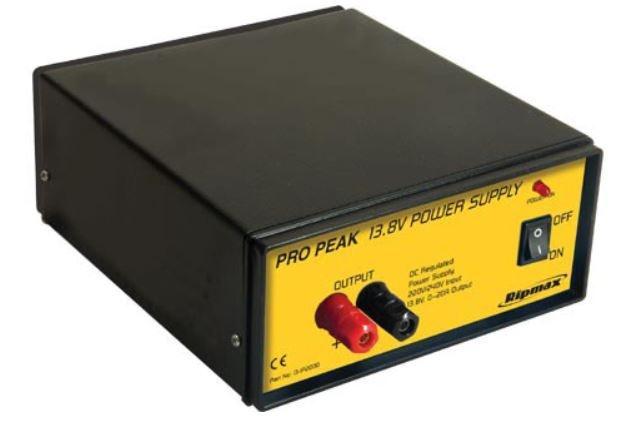 Ripmax Pro-Peak Power Supply 13.8V  20A  275W Euro