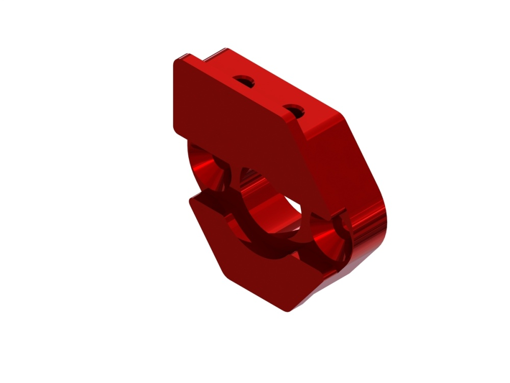 Arrma RC Sliding Motor Mount Plate (red)