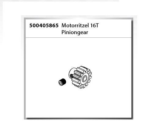 Carson Motorritzel 16T 1:8 Virus 4.1 XL (500409067)