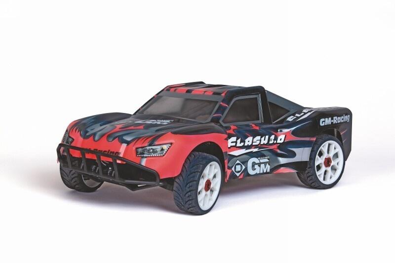 GM 4WD Short Course Flash 3.0 Elektro 2.4GHz RTR 1:8