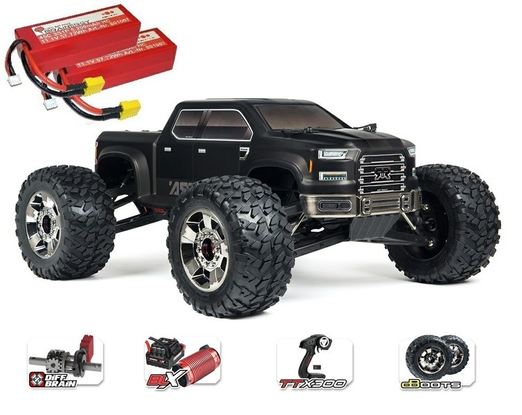 Arrma RC Nero 6s Big Rock 4WD BLX MT 2.4GHz 1:8-SPARSET-