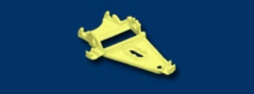 NSR Triangular AW Motor Mount XtraLIGHT -30% YELLOW