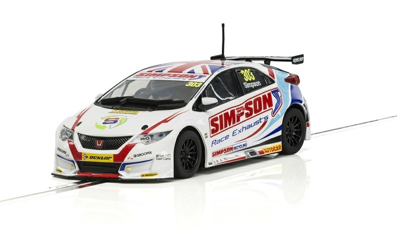 Scalextric Honda Civic Type R NGTC BTCC17 #303