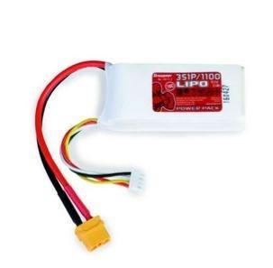 Graupner Power Pack LiPo 3S / 1100 mAh, 11,1 V, 70 C, XT-60