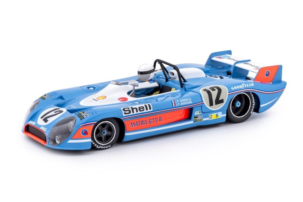Slot.it Matra-Simca MS 670b 1973 - 3rd Le Mans /