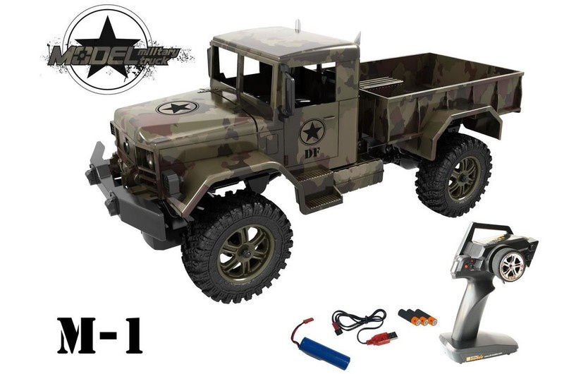 DF-Models Starter Line M1 Military Truck 4WD brushed