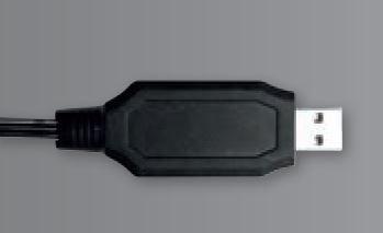 Carrera RC / Profi RC 1A USB-Kabel für Akku 6,4V