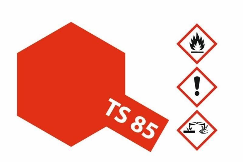 Tamiya Acryl-Sprühfarbe TS-85 Mica Hellr.Glim.F60 glänzend