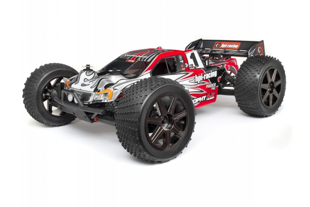 HPI Trophy 4WD Nitro Racing Truggy 4.6 2.4GHz RTR 1:8