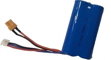 FM-electrics Akku für Huina 1580 Vollmetall-Bagger