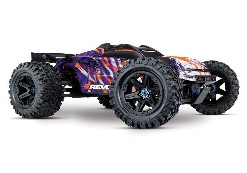 Rückläufer/Vorführer Traxxas E-REVO BL2.0 4x4VXL purple 4WD