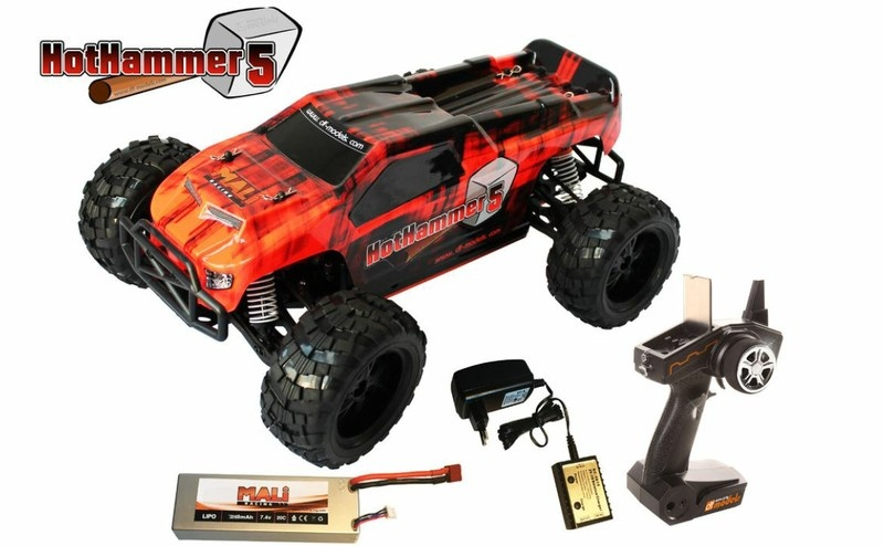 DF Models HotHammer5 1:10XL Line 4WD Brushless Buggy 2.4GHz