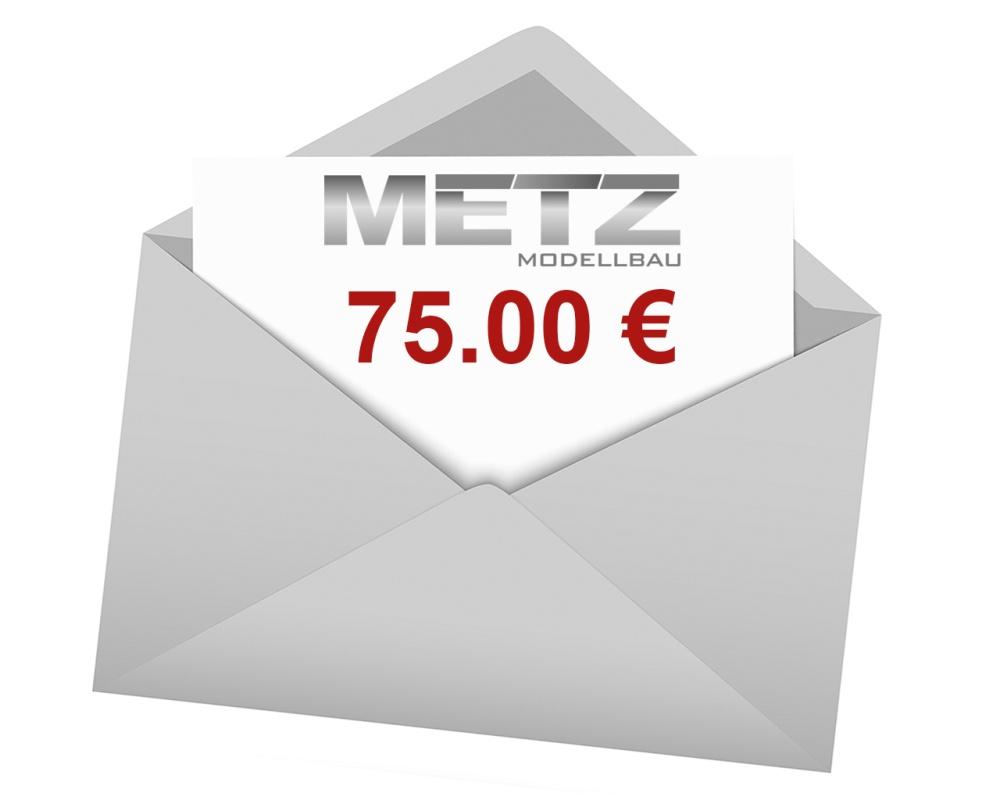 Modellbau Metz Geschenkgutschein