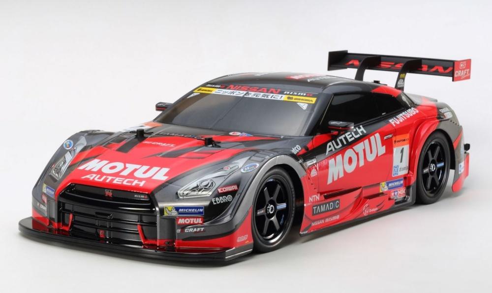 Tamiya TT-02 RC Motul Autech GT-R Bausatz 1:10