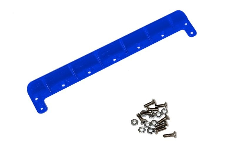 JS-Parts ultraflex Heckkante universal 158mm blau