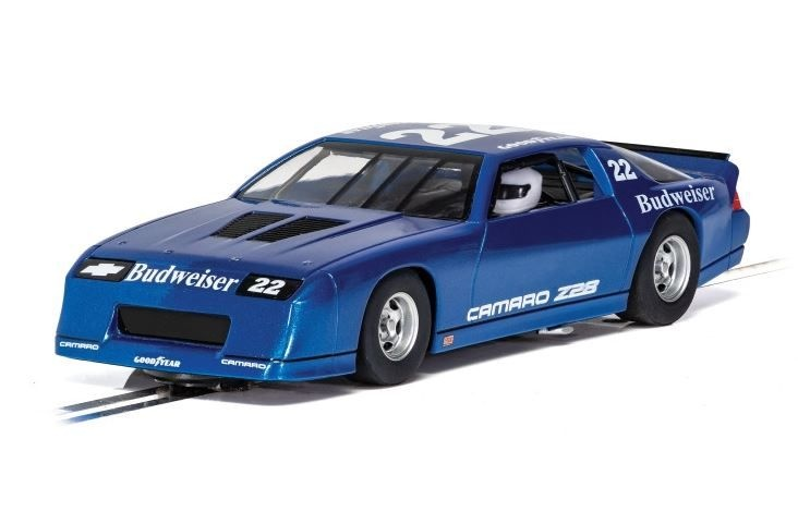 Scalextric 1:32 Chevrolet Camaro IROC-Z Blau HD