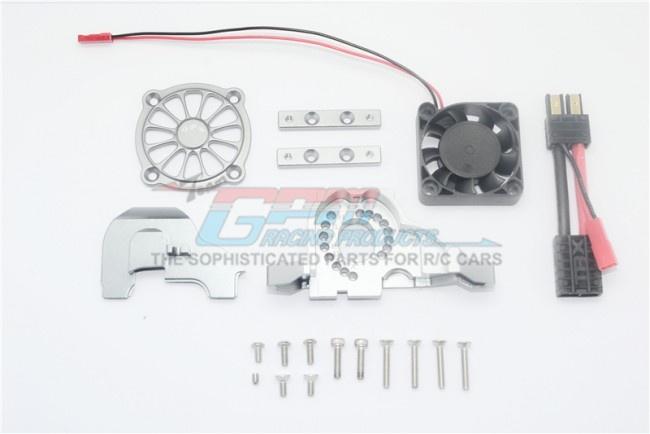 GPM aluminium motor mount + upper spur gear case cover