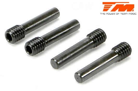 Team Magic Ersatzteil -  E6 III - Lockpin 3x17.3mm (4 Stk.)