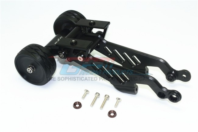 GPM aluminium rear wheelie with wing mount - 7PC Set for