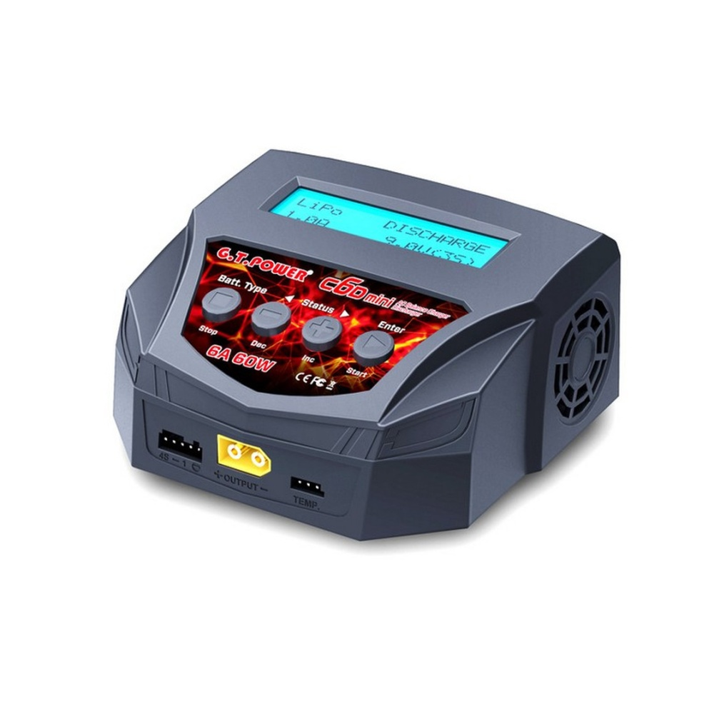 GT-POWER C6D Mini Charger AC/DC 10A 100W